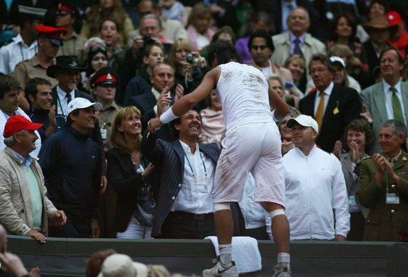 Rafael Nadal Wimbledon 2008