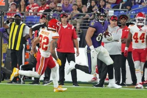 Baltimore Ravens' Mark Andrews Overcame Personal Tragedy To Register Career Best NFL Performance