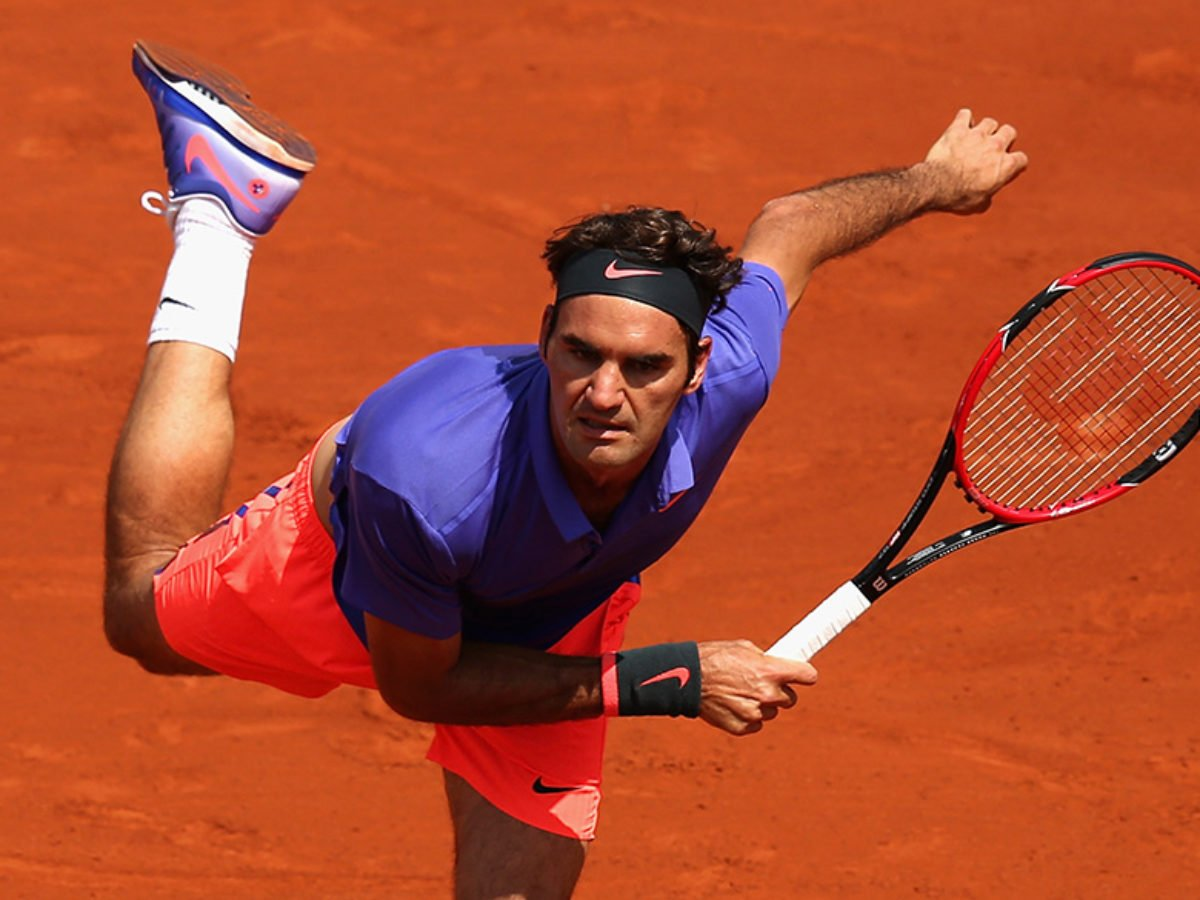 Roger Federer Feels Serve And Volley Is Easy On Clay Essentiallysports