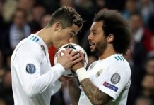 Christiano Ronaldo and Marcelo