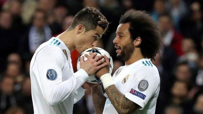 Christiano Ronaldo and Marcelo