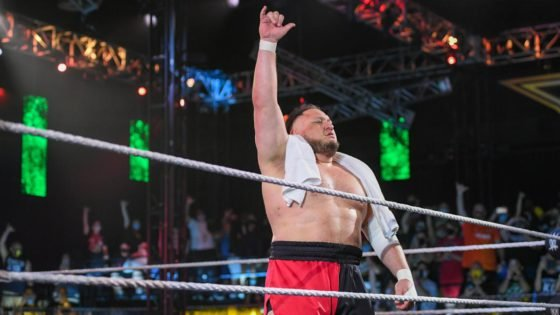 Samoa Joe Achieves a Rare Feat at WWE NXT TakeOver 36