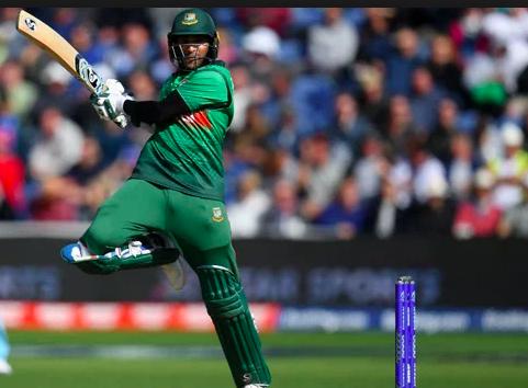 Shakib al Hasan batting