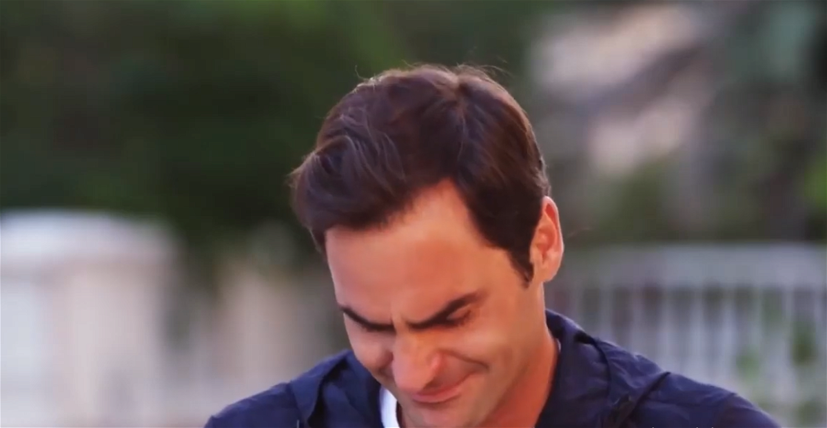 Roger Federer breaks down as he remembers his first tennis coach