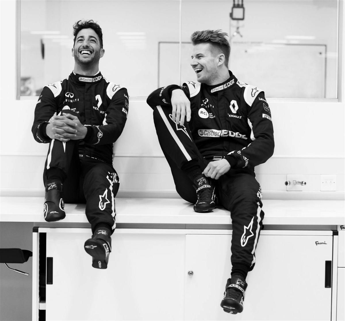 Renault Tease Daniel Ricciardo's New Kit