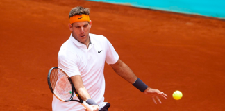 Juan Martin del Potro at Mutua Madrid Open 2019