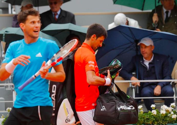 Novak Djokovic, French Open 2019