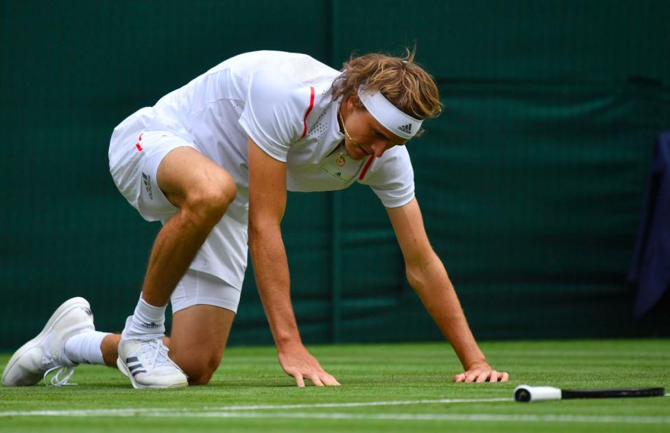 Seeds Zverev and Tsitsipas make shock Wimbledon exits