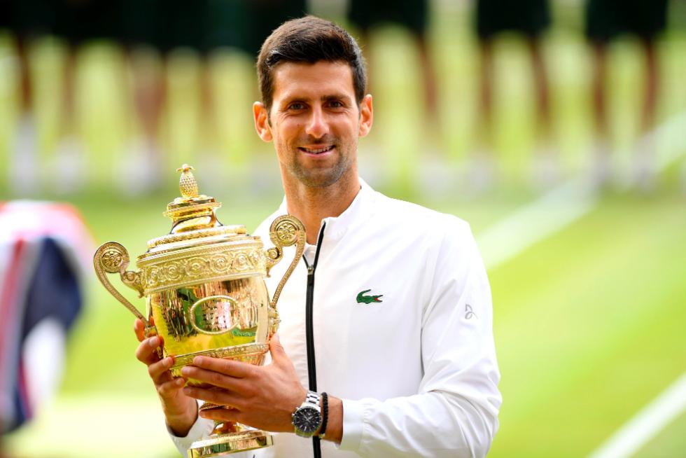 Twitter Erupts As Novak Djokovic Lifts His Fifth Wimbledon Title After An Epic Win Over Roger Federer Essentiallysports