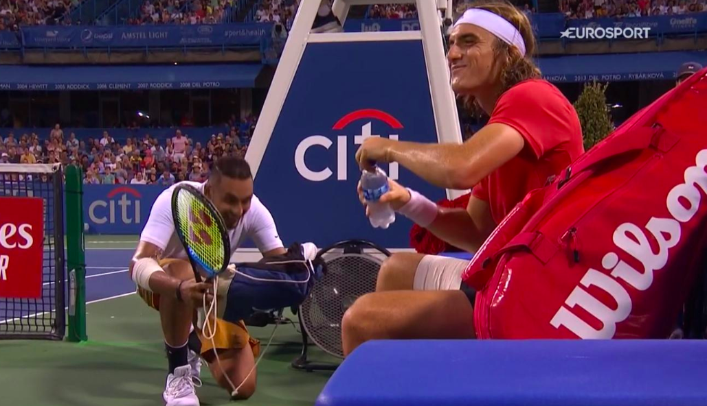 Stefanos Tsitsipas, and Nick Kyrgios