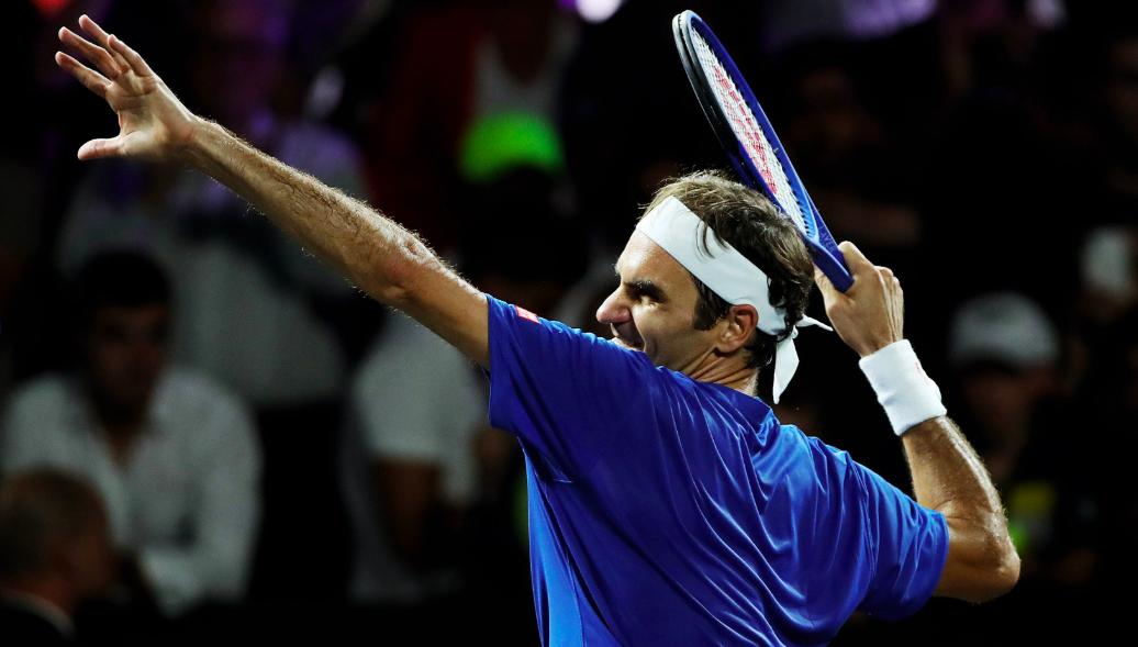 Nick Kyrgios Roger Federer
