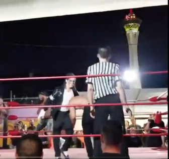 HILARIOUS! Pro Wrestler Stuns Everyone With 'The Michael Jackson Moonwalk' Move