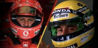 Schumacher vs Senna