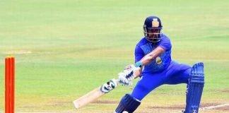 Shreyas Iyer playing for Mumbai in the Syed Mustaq Ali Trophy