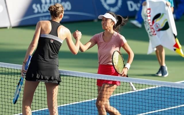 at Dubai Duty Free Tennis Championships