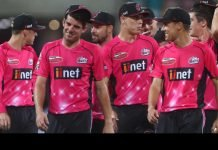 Sydney Sixers players in Big Bash League (BBL)