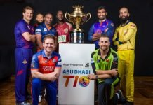 Abu Dhabi T10 League 2019