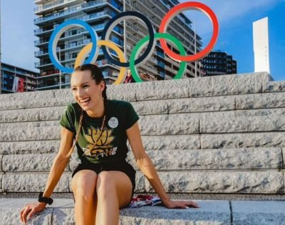 WOW! South Africa Gives World Record Breaker Tatjana Schoenmaker a Hero's Welcome at Tokyo Olympics Village