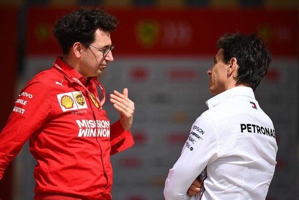 """Not Just Ferrari That Accepts Compromises""- Mattia Binotto Criticizes Mercedes Over Reverse Grid Races - Essentially Sports"