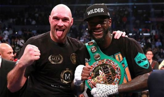 """Manager Says Deontay Wilder Would End Tyson Fury Rivalry With """"A Big Embrace"""""""