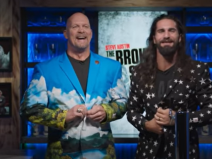 Seth Rollins Gives a Special Gift to WWE Legend Stone Cold Steve Austin