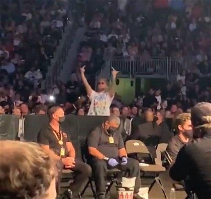 VIDEO: Daniel Cormier Confronts Jake Paul at UFC 261 as Crowd Roars 'F**K Jake  Paul' - EssentiallySports