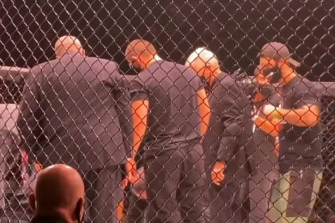 VIDEO: Coach Khabib Nurmagomedov Helps Bellator Staff Load Daniel Carey Onto the Stretcher After Being Knockout Out By His Pupil