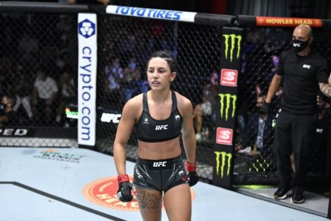 'I've Been Broke My Whole Life'- Cheyanne Buys Breaks Down After Learning She Got a $50,000 Bonus Paycheck for Winning at UFC Vegas 33