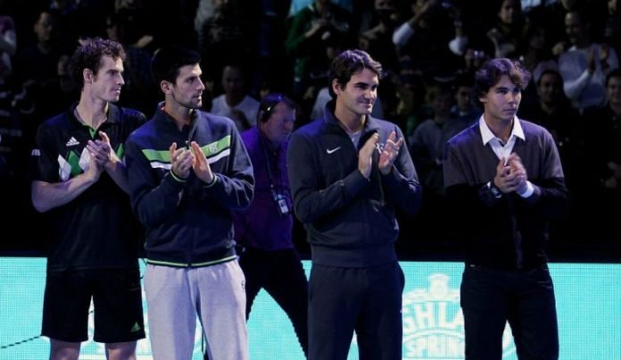 Federer, Nadal, Djokovic and Murray