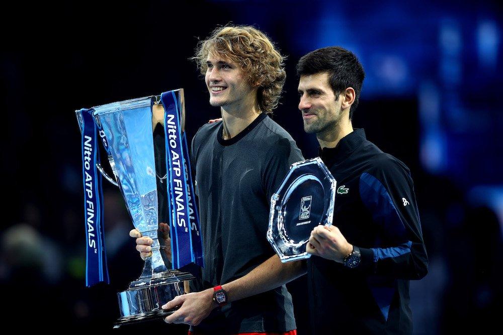 Federer, Nadal and Djokovic
