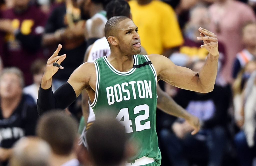 Al Horford in Boston Celtics jersey
