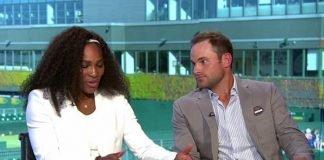 Andy Roddick and Serena Williams