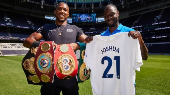 """WATCH: Anthony Joshua Says He Is """"Not Really a Massive Football Fan"""""""