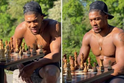 WATCH: Anthony Joshua Gets Destroyed in Chess