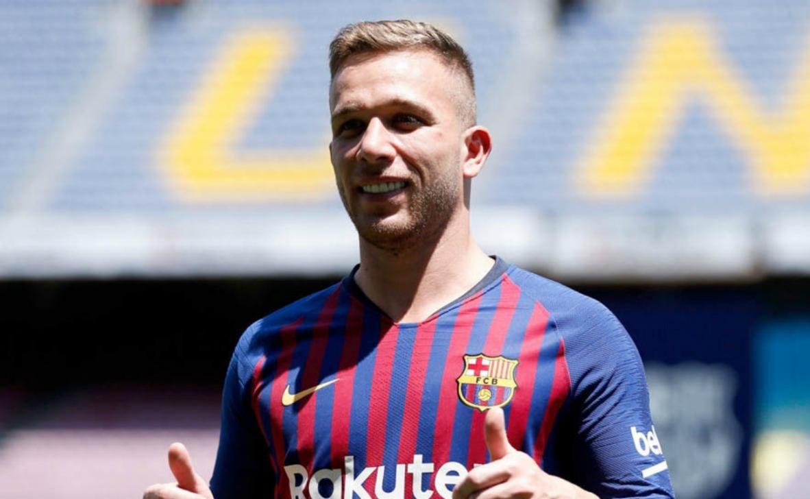 Barcelona midfielder Arthur Melo