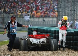 Hamilton squandered his chances in China