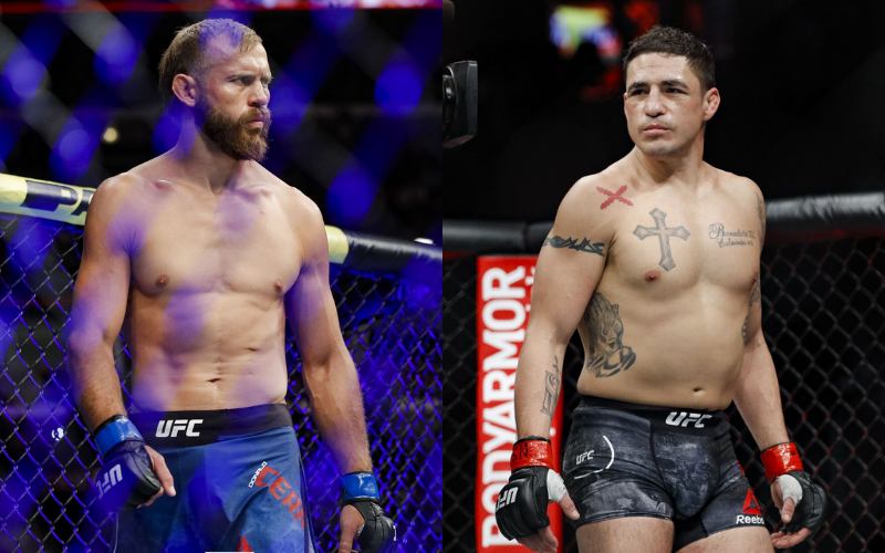 UFC Veterans Diego Sanchez and Donald 'Cowboy' Cerrone Set to Fight Each Other on May 8th - EssentiallySports
