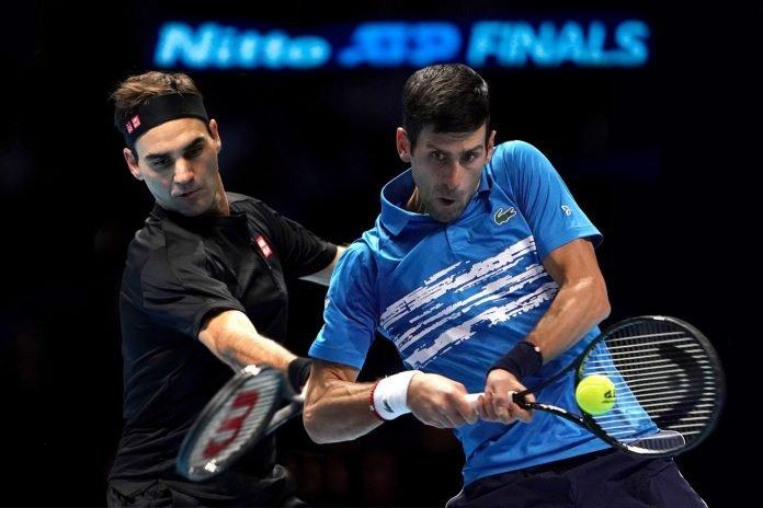 ATP World Tour Finals 2019 Roger Federer