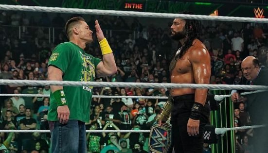 It's Official! John Cena Will Face Roman Reigns for the WWE Universal Championship at Summerslam 2021