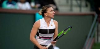 Simona Halep at Indian Wells 2019
