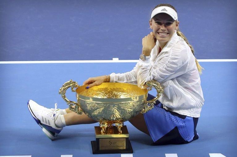 Caroline Wozniacki wins her 30th WTA singles title