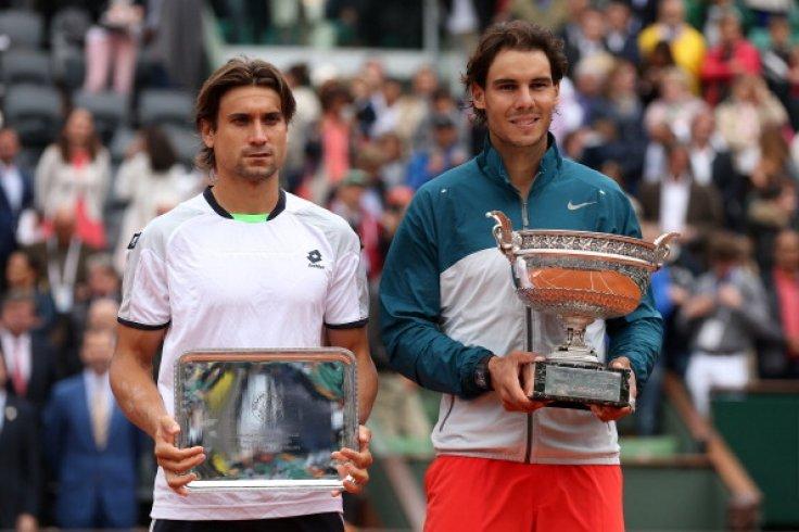 Roland Garros 2013: David Ferrer and Rafael Nadal