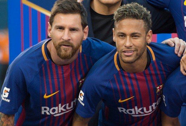 Lionel Messi & Neymar Jr.