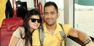 MS Dhoni and Sakshi Rawat
