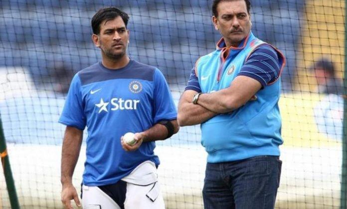Ravi Shashtri backs Dhoni