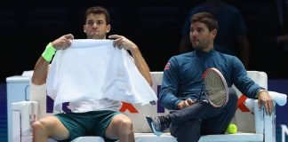 Grigor DImitrov and Dani Vallverdu