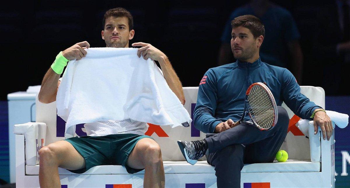 Grigor DImitrov and Dani Vallverdu