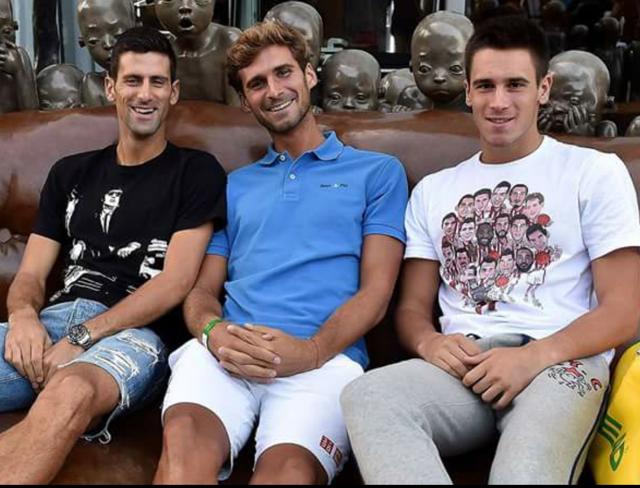 Novak Djokovic's Brothers
