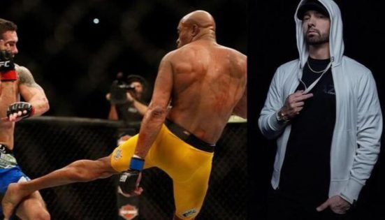 VIDEO: When Anderson Silva Was Included in a Song by Rap Sensation EMINEM