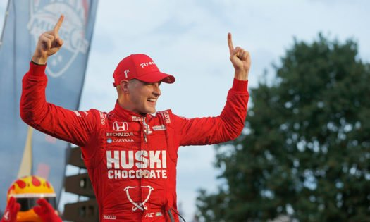 Marcus Ericsson Embraces the 'Airicsson' Memes After Airborne NASCAR Incident at IMS